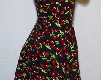 SUMMER CHERRY DRESS