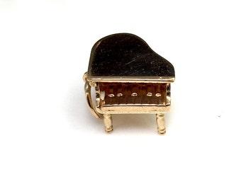 Baby Grand Piano Charm