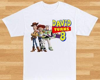 Toy Story Custom T-Shirt