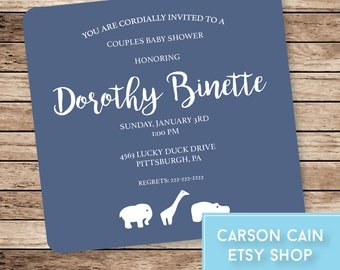 Baby Shower/Couples Shower Invite