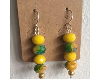 lemonade earrings | bohemian earrings | festival fashion |
