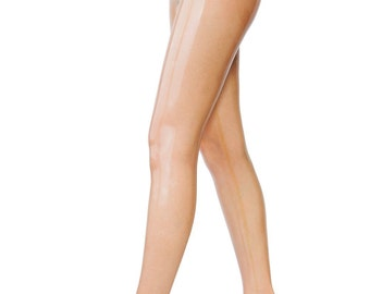 Latex pantyhose crotch zipper available