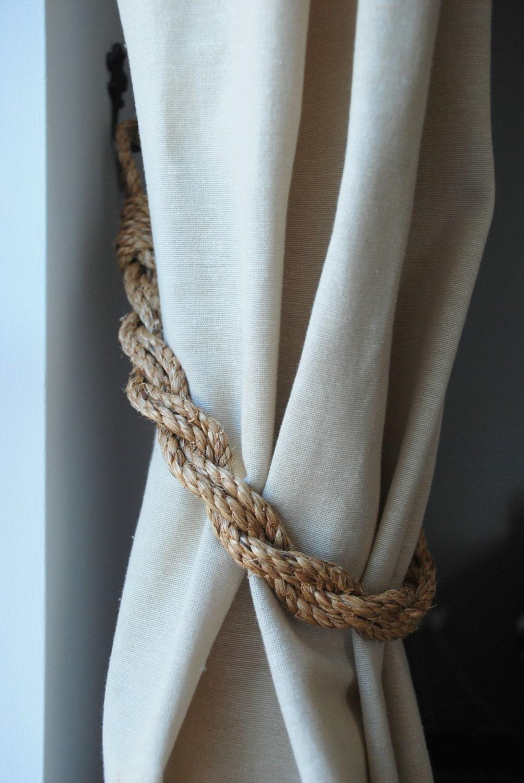 Nautical Rope Curtain Ties Curtain Menzilperde Net