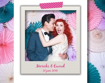 Customized Wedding-Personalized backdrop Fotobooth-Background-background photo booth wedding