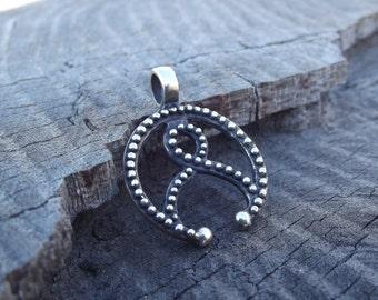 Pendant Jewelry Lunula, Pagan jewelery, Moon sumbol, mideval jewelry, Gift for woman