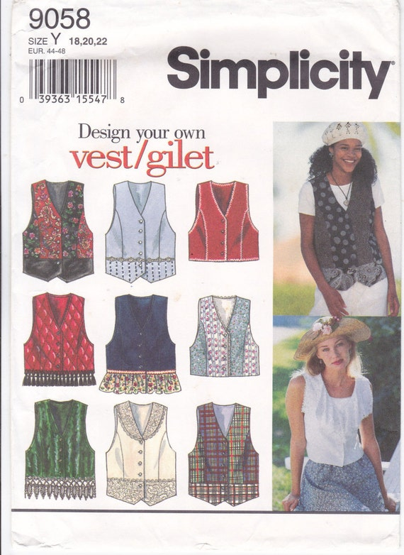 how to make your own vest pattern