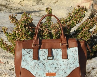 Daytona Bag - A Modern Classic Handbag - PDF Sewing Pattern