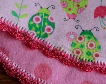 reversible burp cloth