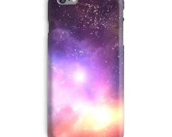 Galaxy iPhone Case, Space iphone case, Universe iphone 6 case, Alien iphone 6 case, Purple iphone 6s case, Stars iphone case