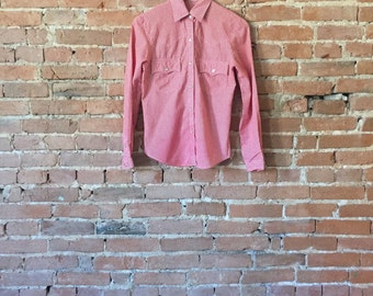 Vintage Levi's Gingham Western Button Down