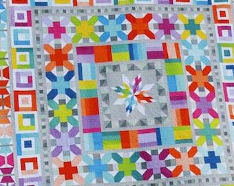 Aviatrix Medallion Quilt Pattern by Elizabeth Hartman - Fat Quarter Friendly Pattern