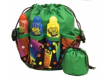Large Bingo Bag - 10 Pockets - see