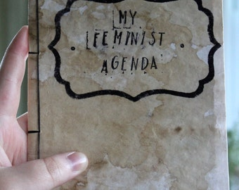 My Feminist Agenda Sketchbook