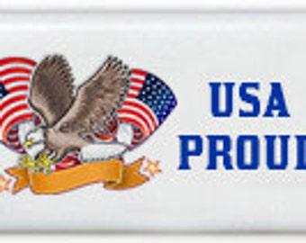 Eagle Emblem Custom Personalized Dominoes Set