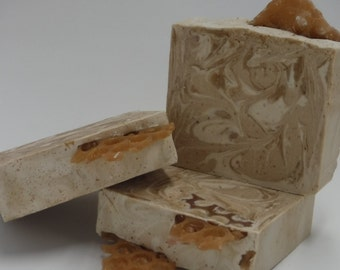 Oatmeal, Milk, and honey (Soap)