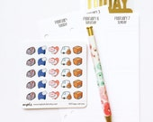CLOSING SALE 40% OFF - 003 planner stickers : happy mail icons