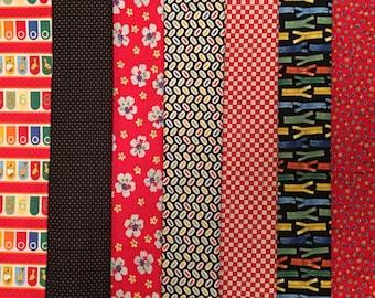 Ducks in a Row by American Jane for Moda Fabrics 7 Piece Fat Quarter Bundle ***SALE
