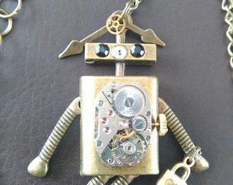 Steampunk-  She-Bot