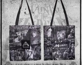 Horror Theme Tote Bag
