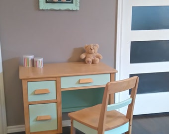 Child desk restaured, VINTAGE!