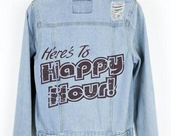 Happy Hour Jean Jacket