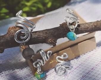Custom Wire Wrapped Ear Cuffs