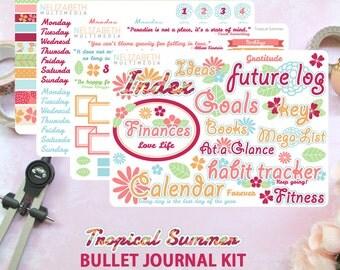 bullet journal kit modern monochromatic by nelizabethmultimedia. Black Bedroom Furniture Sets. Home Design Ideas