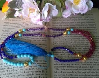 Tassel necklace festival