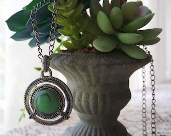 Garden Green Necklace