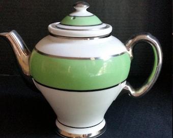 Tea Pot 3 Part Made By McCormick Banquet 1950
