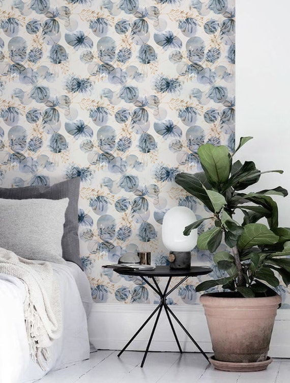 floral wallpaper floral sticker removable wallpaper floral