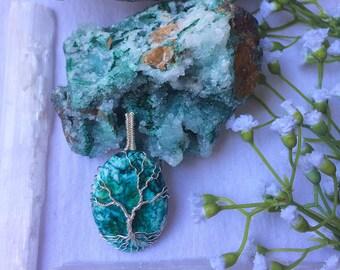 Turquoise Tree of Life