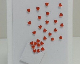 Hand-made card | mini love letter