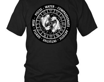 PISCES Zodiac Sign Mantra T-Shirt