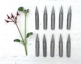 Set of 10 Vintage Pen Nibs Australian Number 9 New-Old Stock Calligraphy Birmingham