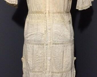 Edwardian Cream Tea Dress