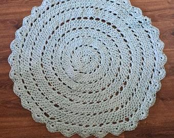 Crochet Rug 'Henry'