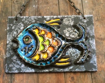 Carstens hanging wall plaque - Fish