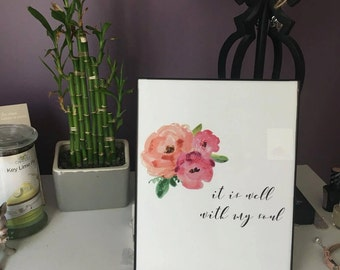 It is well with my soul printable art