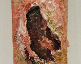 Open Wound Abstract Painting