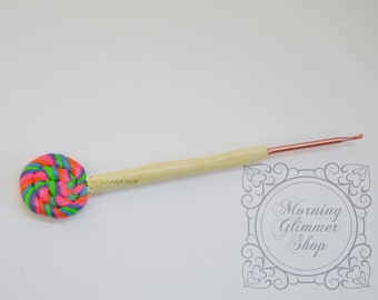 Lollipop Ergonomic Crochet Hook