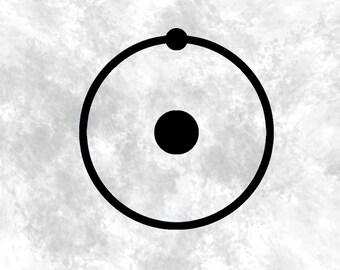 Dr. Manhattan Vinyl / Dr. Manhattan / Dr Manhattan Decal / Doctor Manhattan Sticker / Watchmen Decal / Watchmen Window Sticker /