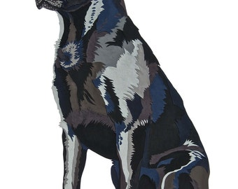 Regal Labrador limited edition signed giclee fine art print