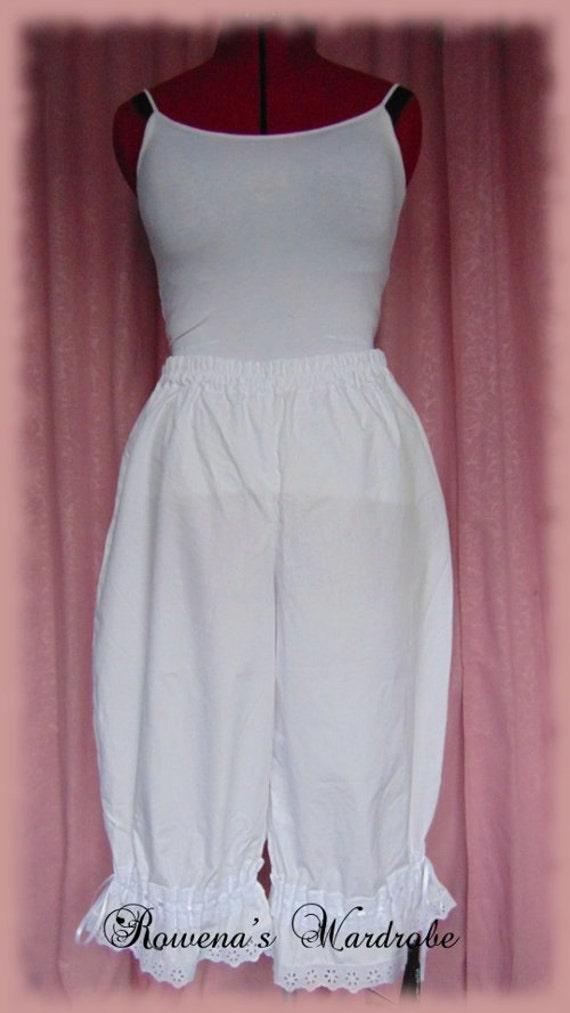 Victorian Lingerie – Underwear, Petticoat, Bloomers, Chemise Victorian BloomersVictorian Bloomers $43.08 AT vintagedancer.com