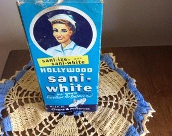 Vintage Hollywood Sani-White