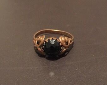 Vintage Czechoslovakian ring