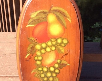 Vintage Fruit Wall Decor
