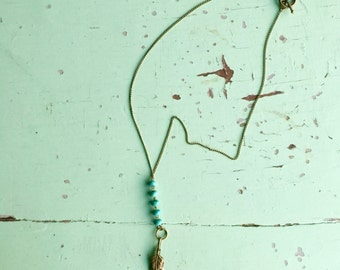 Spirited and Feathers Necklace