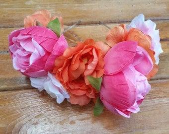 Cressida Floral Head Band