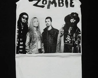White Zombie, White Zombie tank top, Rob Zombie, Rob Zombie shirt, White Zombie shirt, Heavy Metal Clothing, Rock n Roll Clothing, S, M, L